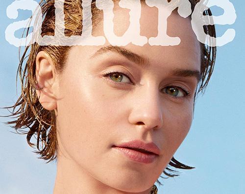 emilia clarke 2 Emilia Clarke è mora su Allure Magazine