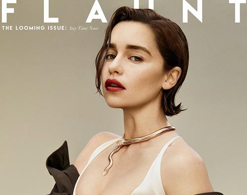emilia clarke Emilia Clarke si racconta su Flaunt Magazine