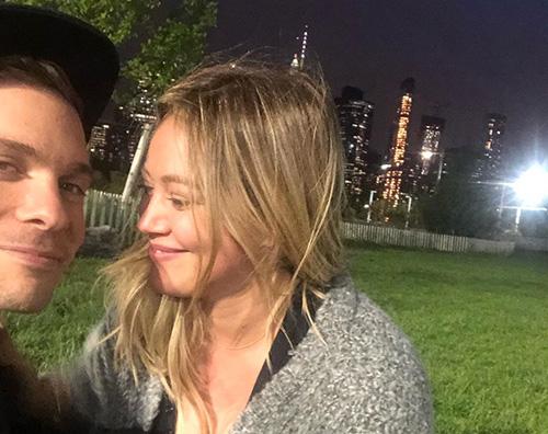 hialry duff Hilary Duff festeggia la sua prima settimana da fidanzata