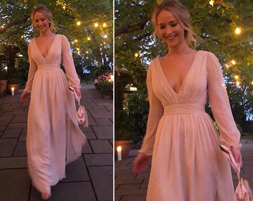 jennifer lawrence Jennifer Lawrence splendida al suo addio al nubilato