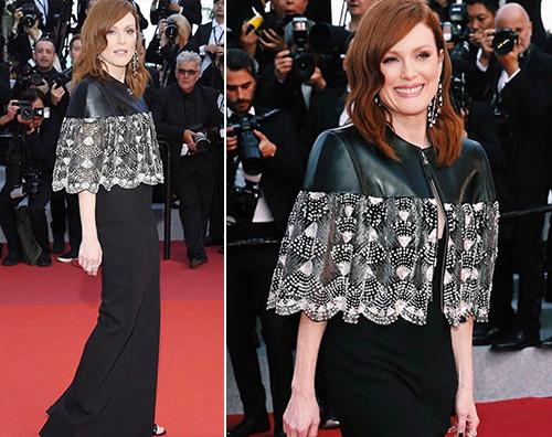 julianne moore Julianne Moore sceglie il nero per il secondo giorno a Cannes