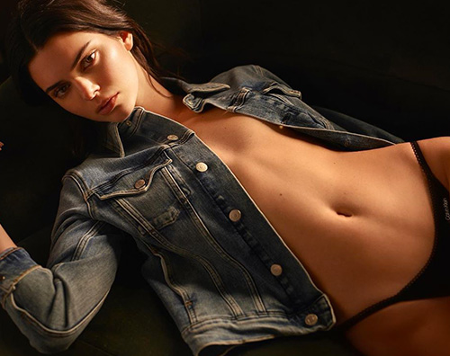 kendall jenner Kendall Jenner è bollente per #MyCalvins