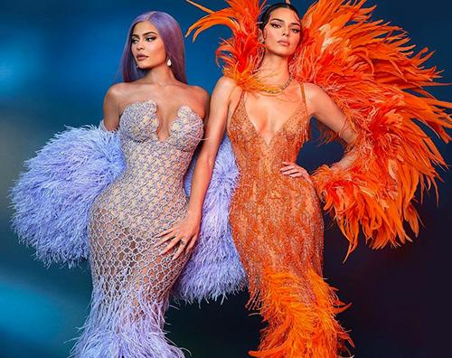 kylie kendall Kylie e Kendall Jenner, due sirenette al Met Gala 2019