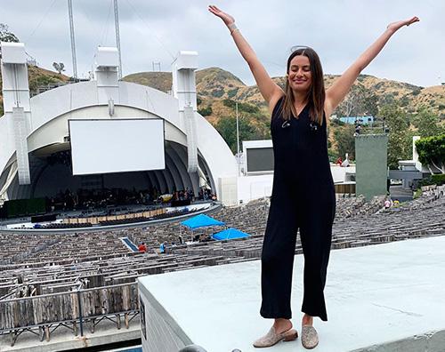 lea michele Lea Michele ritorna sul palco nelle vesti di Ariel