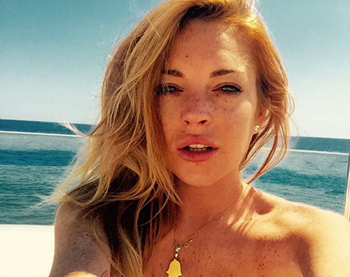 lindsay lohan Lindsay Lohan è hot per il suo compleanno