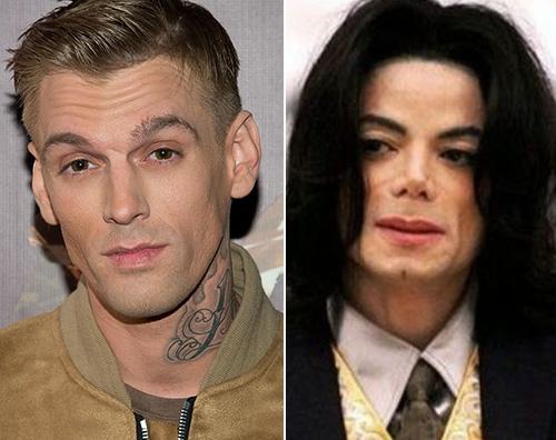 michael jackson aaron carter Aaron Carter Michael Jackson ebbe un comportamento inappropriato