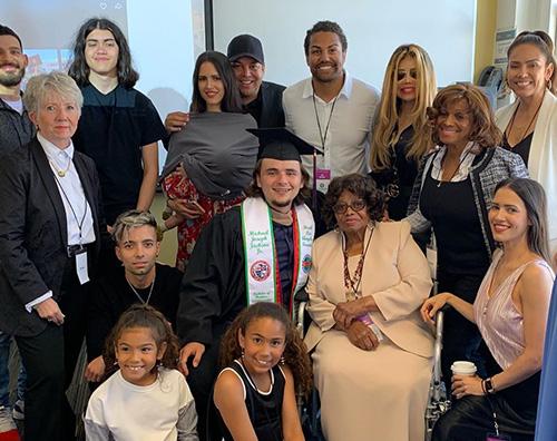 prince jackson 2 Prince Jackson si è laureato