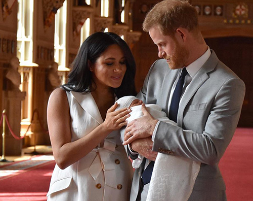 royal baby3 La card di Natale di Harry e Meghan