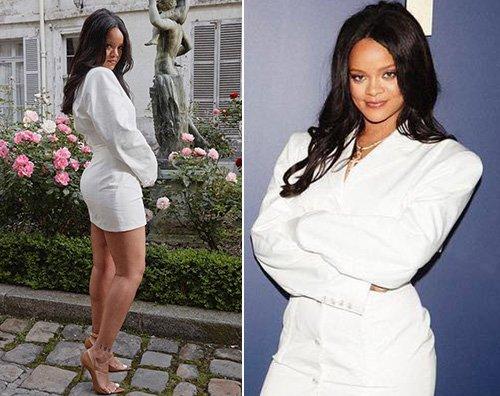 Rihanna Rihanna inaugura una boutique Fenty a Parigi
