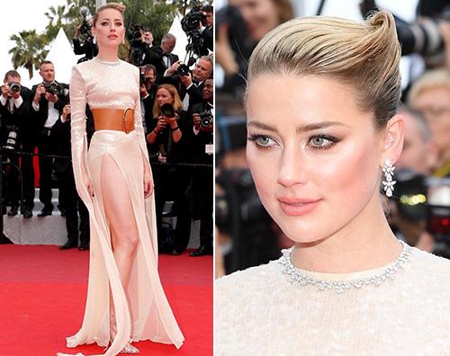 amber heard Amber Heard brilla a Cannes