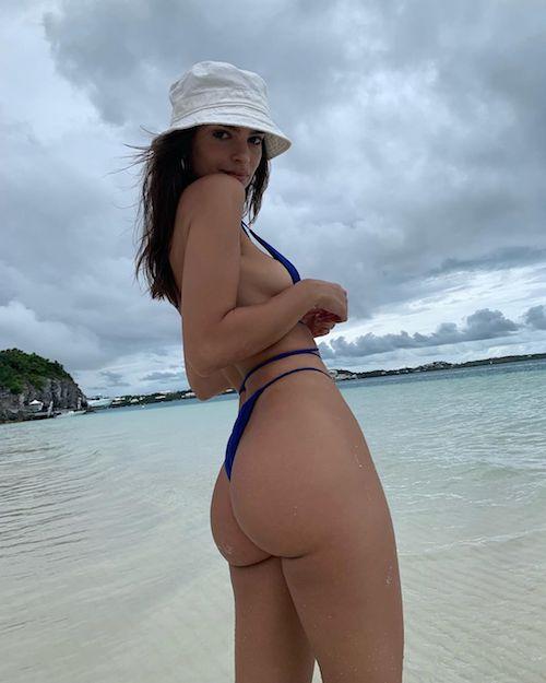 62493366 2332573010291044 2372491130678097968 n Emily Ratajkowski, bikini rovente su Instagram