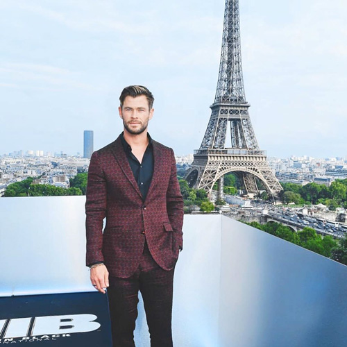 Chris Hemsworth Chris Hemsworth e Tessa Thomson a Parigi per Men In Black