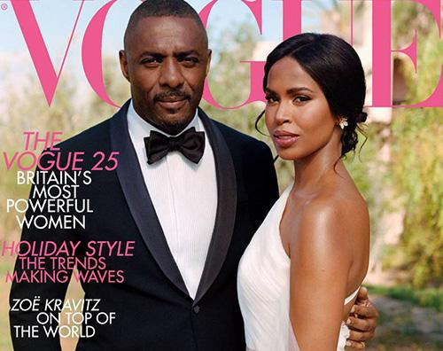 Idris Elba 2 Idris Elba e sua moglie conquistano la cover di British Vogue