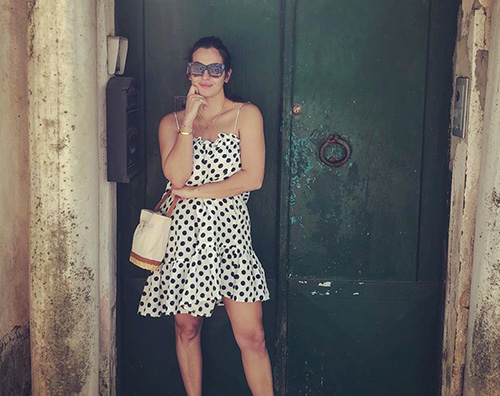 alanna masterson 2 Alanna Masterson di TWD è in vacanza in Italia