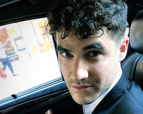 arren criss Darren Criss ai Tony Awards con Mia