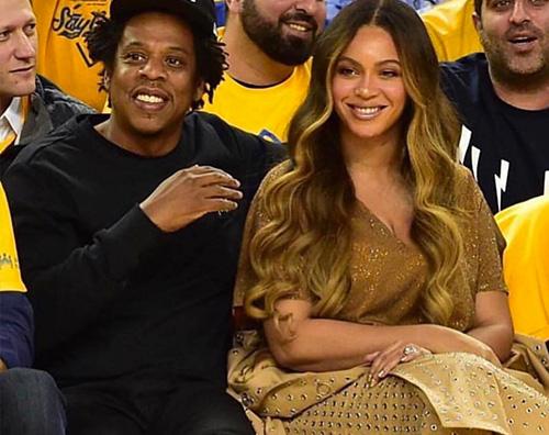 beyonce 1 Beyonce stilosa alla Oracle Arena