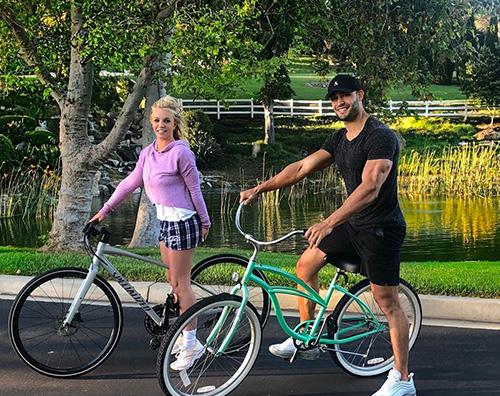 britney spears Britney Spears, dopo la rehab si da allo sport