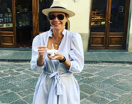 gwyneth paltrow Gwyneth Paltrow, una lettera damore per lItalia