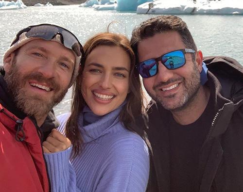 irina shayk Irina Shayk vola in Islanda per lavoro