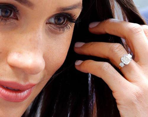 meghan Meghan Markle ha modificato il suo anello di fidanzamento