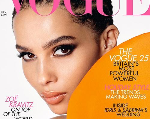 oe kravitz 2 Zoe Kravitz parla dei suoi disordini alimentari su Vogue