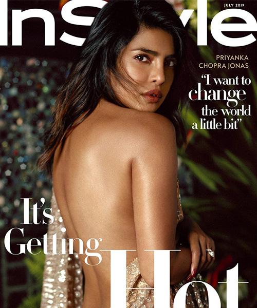 priyanka chopra Priyanka Chopra conquista la cover di InStyle
