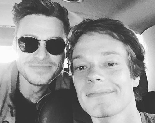 richard madden alfie allen Richard Madden e Alfie Allen insieme su Instagram