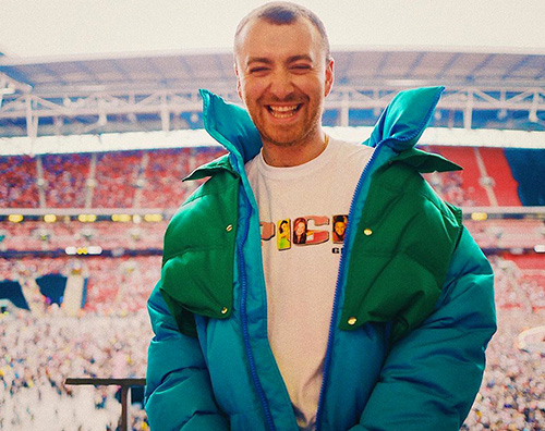Sam Smith Anche Sam Smith a Wembley per le Spice Girls