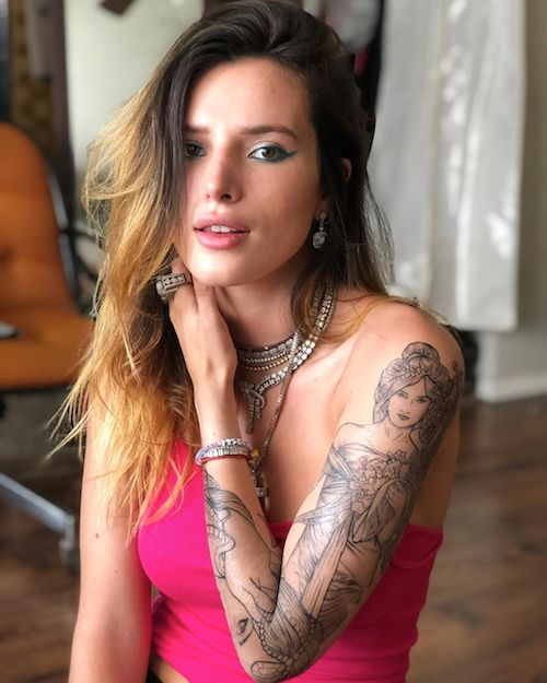 66068121 2304769162964301 843579267546671070 n Bella Thorne ha un nuovo tattoo