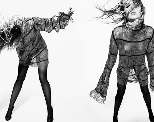 Miley 3 Miley Cyrus è sulla cover di Elle