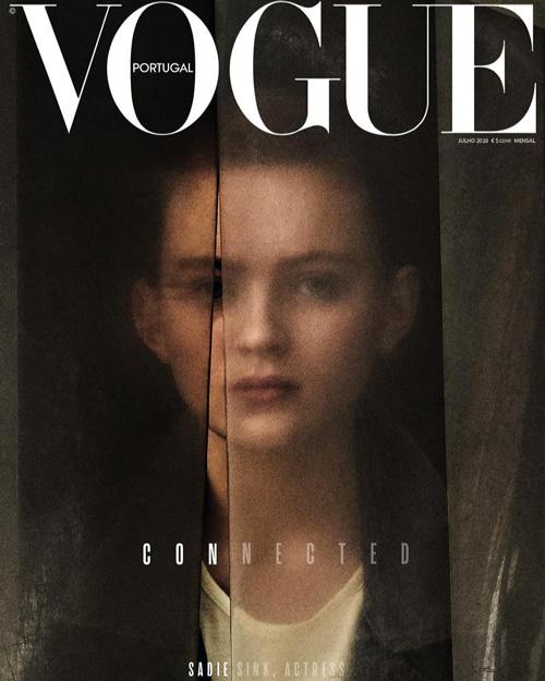 Sadie Sink Sadie Sink portavoce della generazione Z su Vogue Portogallo