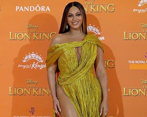 beyonce  Beyonce e Jay Z presentano The Lion King a Londra