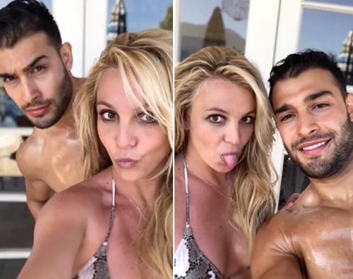 britney spears Britney Spears ha ritrovato il sorriso col suo Sam