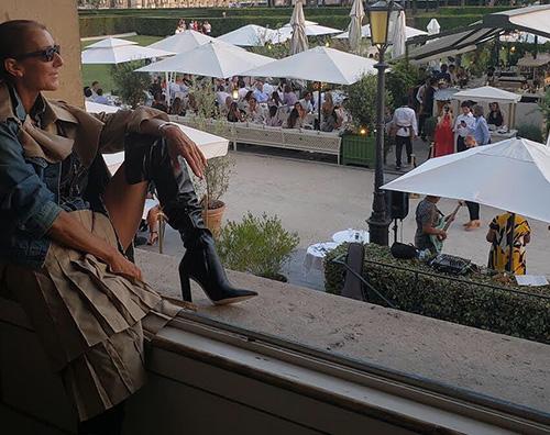 celine dion Celine Dion si gode il relax a Parigi