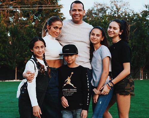 jennifer lopez Jennifer Lopez e Alex Rodriguez, festa in famiglia per il 4 luglio