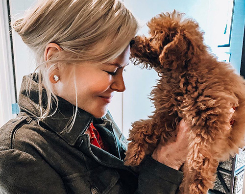 nicole kidman 1 Nicole Kidman ha adottato un cucciolo