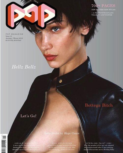 66425638 131739941410907 526411068061705583 n Bella Hadid hot sulla cover di POP Magazine