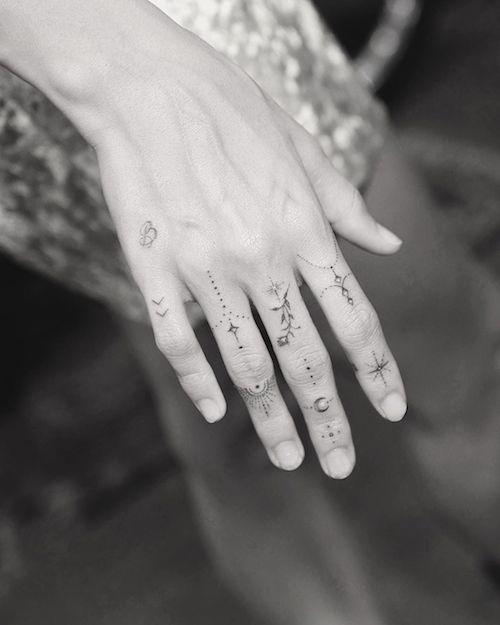 67839421 920871211607387 7884794060430464503 n Anche Hailey Baldwin ha un nuovo tattoo