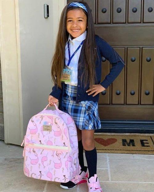 69024627 120399479318909 7434861165359735043 n Chris Brown celebra il primo giorno di scuola di Royalty
