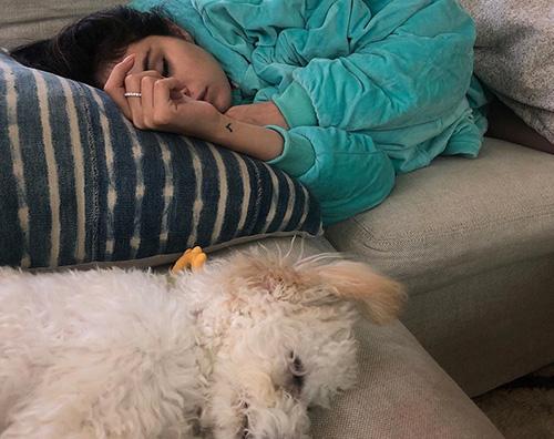 Selena Gomez Selena Gomez, relax insieme a Winnie