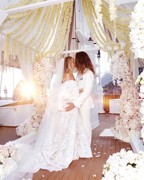 Tom Heidi Heidi Klum, la foto delle nozze