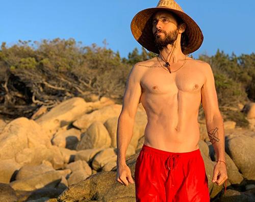 jared leto Jared Leto a petto nudo su Instagram
