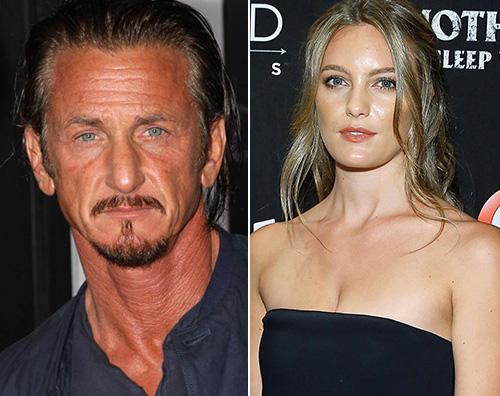 sean penn leila george Sean Penn esce con Leila George