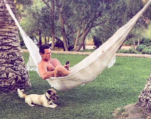 uke evans Relax a Ibiza per Luke Evans