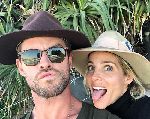 chris hemsworth Elsa Patacky festeggia il compleanno di Chris Hemsworth su Instagram