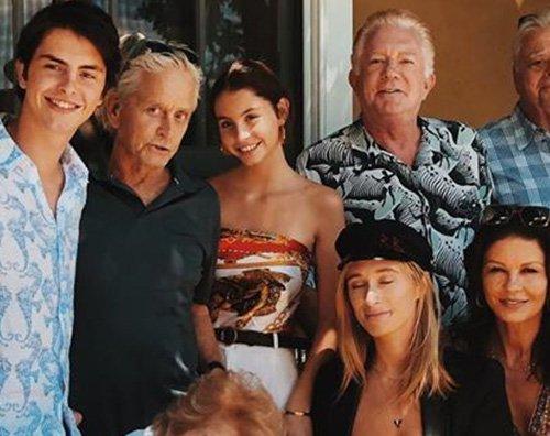douglas La grande famiglia di Kirk e Michael Douglas