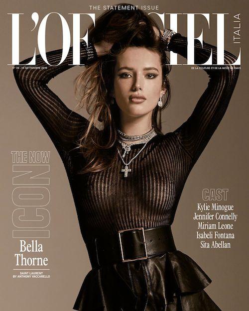 68706302 750204992087601 6149223532517003196 n Bella Thorne è la nuova icona su LOfficiel Italia