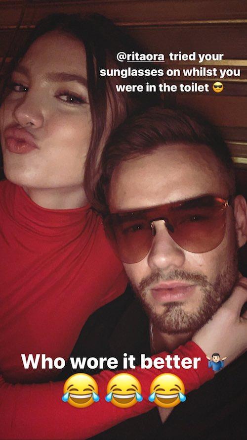 69807896 648131572379673 8222591907014455850 n Liam Payne e Maya Henry felici su Instagram