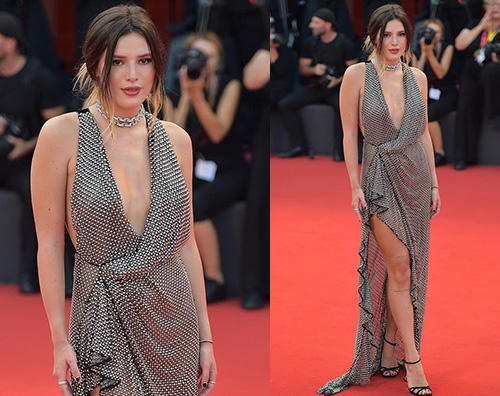 Bella Thorne Bella Thorne è arrivata a Venezia
