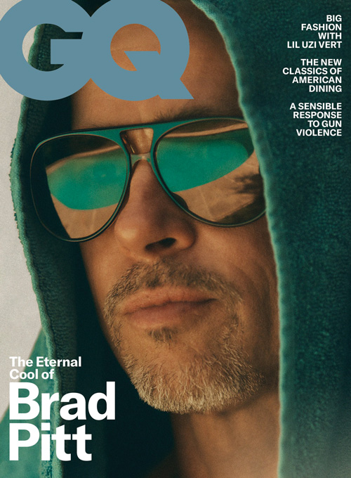Brad Pitt cover 2 Brad Pitt si racconta su GQ